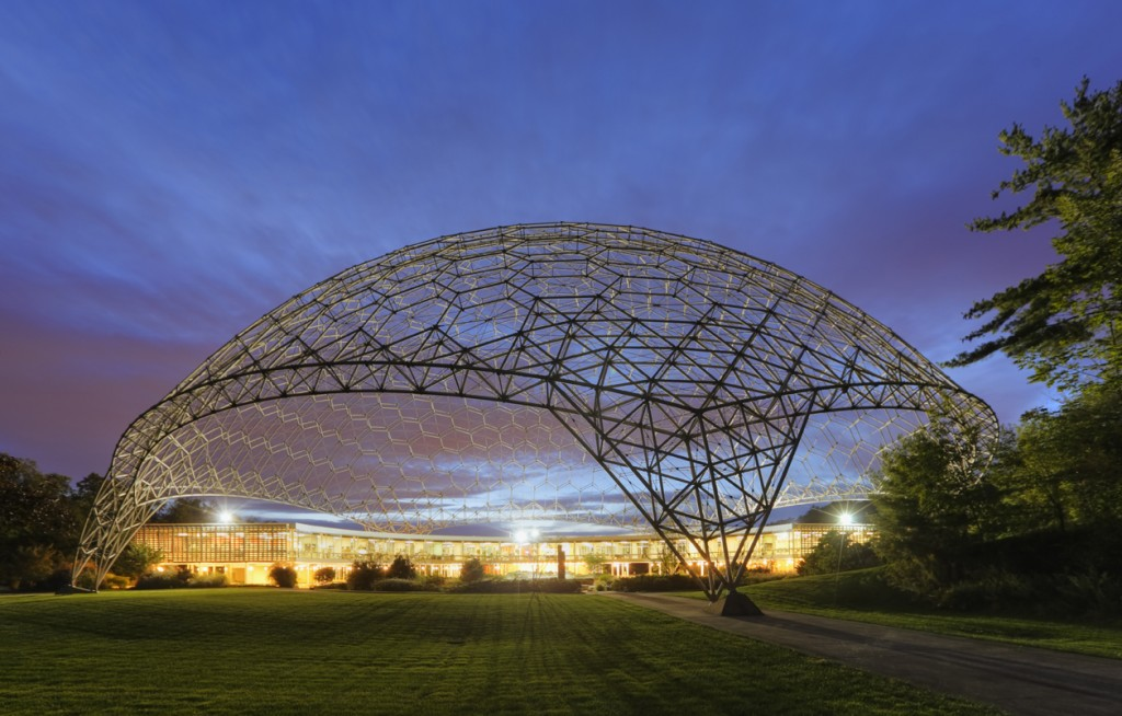 ASM International World Headquarters, Materials Park, Ohio, Architect, John Terrence Kelly, R. Buckminster Fuller